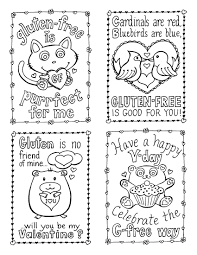 Full Size Of Coloring Pagetrendy Valentines To Color Fourvcardslr Page Large