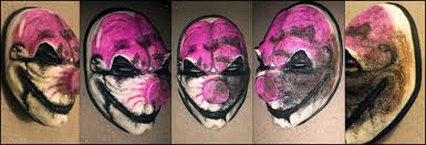 Payday 2 Halloween Masks by Payday 2 Hoxton Reborn Mask Painting Stage By Sodiryfe On Deviantart