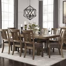 Wayfair Dining Room Chair Cushions by Loon Peak Etolin 9 Piece Dining Set U0026 Reviews Wayfair Supply