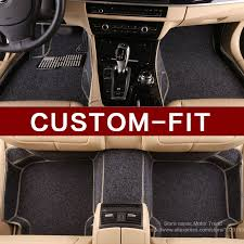 car styling customized car floor mats for peugeot 206 2008 301