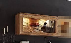 hängeschrank wandschrank schrank vitrine wohnzimmer wildeiche geölt modern