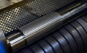 Decorative Metal Banding Material by Perforated Metal Patterns And Materials Metalex