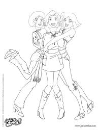 Coloriage Totally Spies Sam Djdarevecom