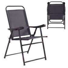 100 Folding Chairs With Arm Rests Costway 4pc Sling Chair Set With Rests Sears Marketplace