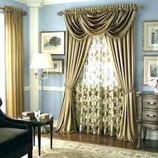 Living Room Elegant Curtains Valances Dining Large Size Of