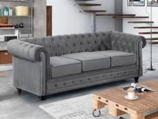 canapé velours gris canape tissu velours gris pas cher confortable et agréable
