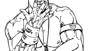 Wwe Coloring Pages Printable