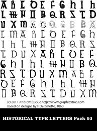 Text Symbols Letters