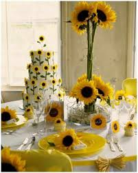 Rustic Kitchen Sunflower Decor