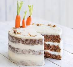Apricot Carrot Cake with Honey Cream Frosting
