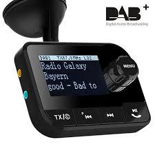 dab dab dab receiver with fm transmitter in car digital radio player smartphone usb charger and fm radio mini digital speaker buy dab fm
