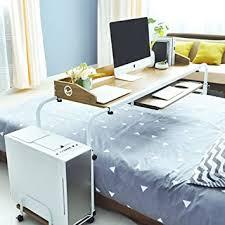 dlandhome computertisch mobile pflegetisch betttisch 120 cm