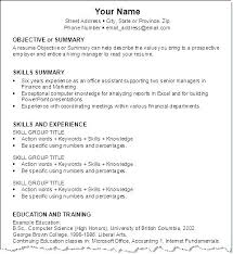 Resume Templates Download Zip Packed With Job Specific Top Writing Best