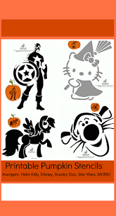 Scooby Doo Pumpkin Carving Stencils Patterns by Free Printable Pumpkin Stencils Avengers Hello Kitty Disney