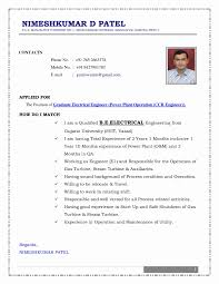 Resume Templates For Mechanical Engineers Valid Download Format Engineer Fresher Luxury In