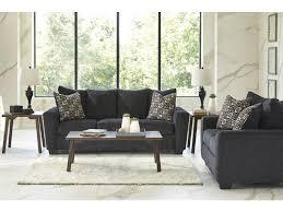 Ashley Wixon Slate Living Room Sofa Loveseat Set