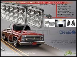 Oracle Lights 84-86 Chrysler Laser 4x6