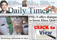 Daily English Newspapers Of Pakistan