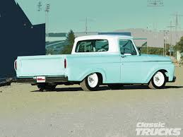 1963 Ford Unibody Side | Slick Sixties Ford Trucks | Ford Trucks ...