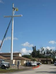 cell phone tower disguised as a church cross 25 Cell Phone Towers Disguised to Look Like