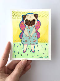 Original Pug My Whole Life Is Basically A Cat Poster Believe