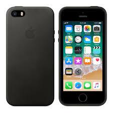 iPhone SE Leather Case Black Apple PH