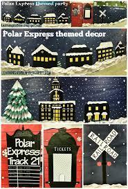Polar Express Door Decorating Ideas by Best 25 Polar Express Theme Ideas On Pinterest Train