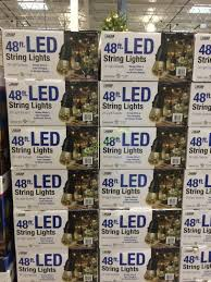 led patio string lights costco