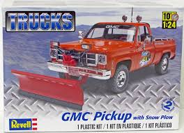 100 Rc Truck Snow Plow GMC Pickup With Revell 857222 124 Gmc