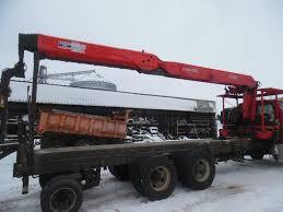 100 Boom Truck CRANE L9500 EQUIPMENT MOUNTED BOOMLIFTCRANE 1809942 For Sale
