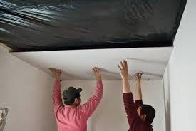 Hanging Drywall On Ceiling Trusses hanging drywall on ceiling one person integralbook com