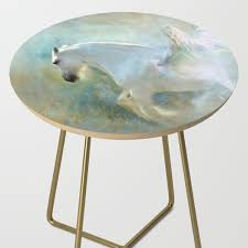 Angelic Horse Side Table By Christineiris