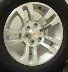 Chevy 18 Inch Split Spoke Wheels Tire Package