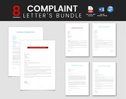 plaint Letters 21 Free Word PDF Documents Download