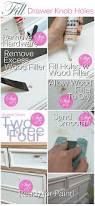 Pink Vintage Dresser Knobs by Fill U0027er Up Repositioning Furniture Hardware U0026 Filling In Holes