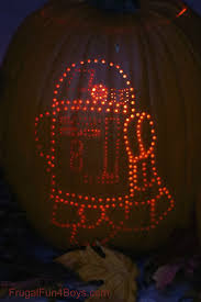 Yoda Pumpkin Template Free by How To Create Awesome Star Wars Pumpkins