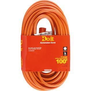 Woods Import Do It Heavy - Duty Outdoor Extension Cord - 12/3x100'