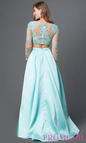 celebrity prom dresses evening gowns promgirl long sleeve