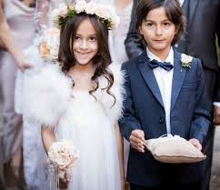 My Flower Girl Cousin And Little Brother As Ring Bearer
