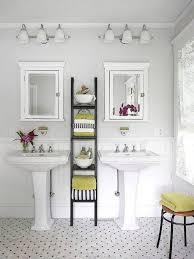 Double White Pedestal Sink Storage Cabinet With Black Ladder Racks ... Bathroom Small Round Sink How Much Is A Vessel Pedestal Decor Single Faucets Verdana Vanity Artturi Space Saving With Overflow For 16 White Designs Cottage Bathrooms Design Ideas Image Of Sinks For Bathrooms Examplary Then Wall Mount Mirror Along With Decorating Toto Ceramic Bathroom Sink Remodel Double Idea Shower Top Kohler Inspiring Idea Cabinet Sizes Appealing Depot Walnut Weatherby Lowes