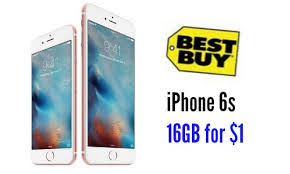 Best Buy Deal Apple iPhone 6S $1 w Contract Southern Savers