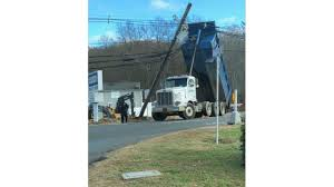 Route 63 Closed In Naugatuck After Dump Truck Takes Down Utility Lines