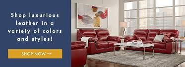 Shop Luxurious Leather In A Variety Of Colors And Styles Living Rooms Room Sets Sofas