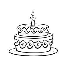 Download Birthday cake stock illustration Illustration of cake