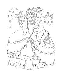 Coloring Pages Of Princesses In Disney