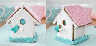 Birdhouse Cake Made With Gluten Free Gingerbread By