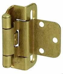 Soft Close Cabinet Hinges Amazon by Amerock Bpr7565g10 Self Closing Partial Wrap Hinge With 3 8in