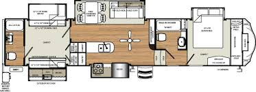 Fifth Wheel Bunkhouse Floor Plans by Sierra 381rbok Double Bathroom Bunkhouse Fifth Wheel Rv
