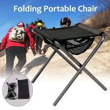 US $20.32 8% OFF|Camping Fishing Chair Portable Folding Backpack Outdoor  Oxford Cloth Foldable Picnic Party Beach Chair + Bag Black-in Fishing  Chairs ...
