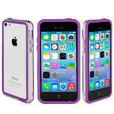 Bumper Case for Apple iPhone 5C Purple
